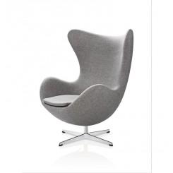 Ægget med returdrej fra Frits Hansen med stof - Arne Jacobsen