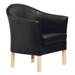 Mogens Hansen - Læderstol