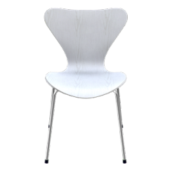 Fritz Hansen - 3107 stol (farvet ask)