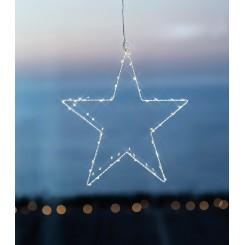 Sirius - Liva Stjerne hvid 30 cm