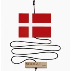 Snoren / Velkomst brik med flag - Nordic By Hand