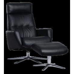 Space 3400 Lænestol med skammel - IMG
