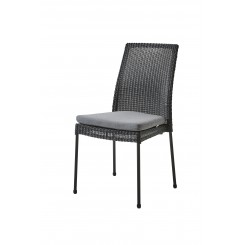 Cane-Line - Newport stol, stabelbar (5432) Black