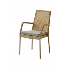 Cane-Line - Newman stol, stabelbar (5434) Neutral