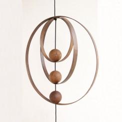 Nordic By Hand - Snoren Jernringe Rust 30 Cm