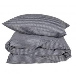 Compliments - Raw Stripe Grey 140x200 cm