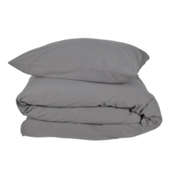 Compliments - Stone Bed Linen Grey 140x220 cm