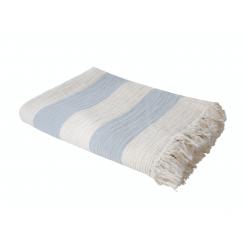 Compliments - River Block Blue/Sand 130x200 cm
